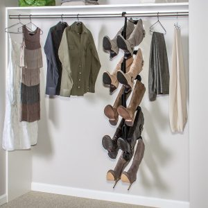 Boot Butler hanging 5-pair boot rack