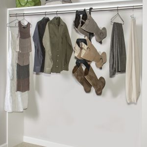 3 pair hanging boot rack