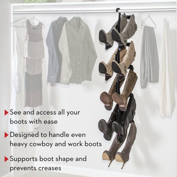 boot storage for closet