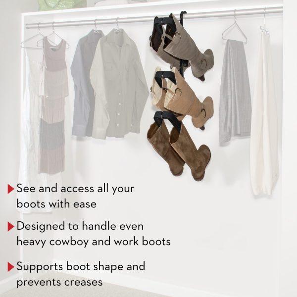 closet boot rack